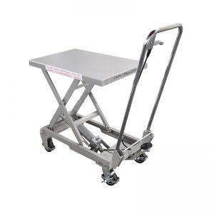 BSA10 Ανοξείδωτο / χειροκίνητο τραπέζι από ανοξείδωτο ατσάλι