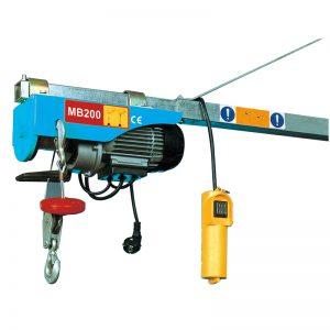 MB200 Mini Electric Hoist, ηλεκτρικό μοχλό ανύψωσης